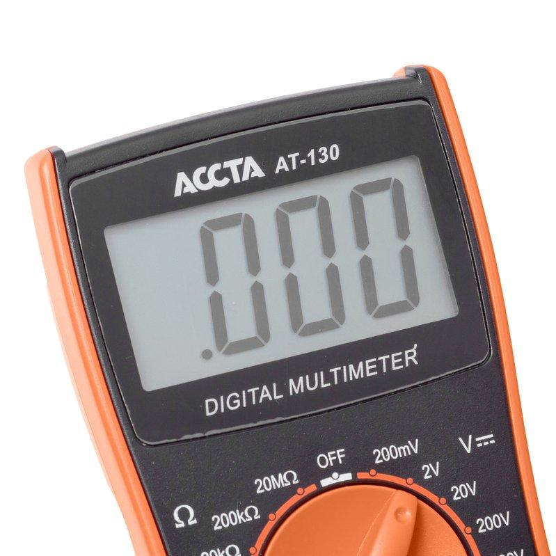 Цифровий мультиметр Accta AT-130 Зображення 4