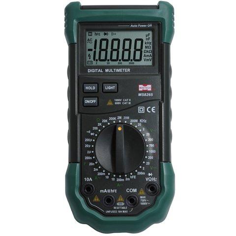 Цифровой мультиметр MASTECH MS8265 Превью 1