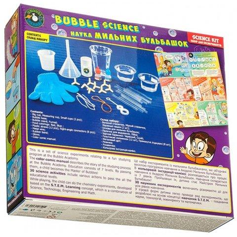 STEAM-набір Science Agents Наука мильних бульбашок