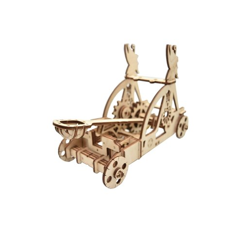 Mechanical 3D Puzzle Wood Trick Catapult Preview 2